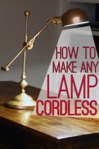 how to make lights to l hack how to make any l cordless view along