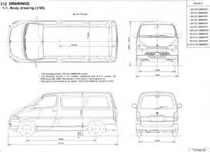 Toyota Dimensions Dimensions Of Toyota Hiace