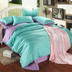 Turquoise Quilt Bedding Luxury Purple Turquoise Bedding Set King Size Blue Green
