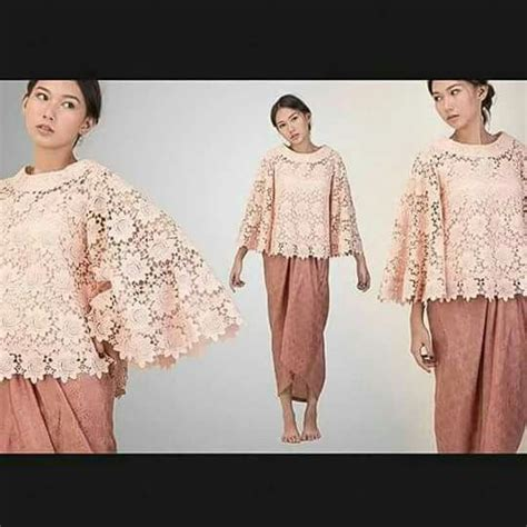Outer Brokat Borkat Brukat brokat prada brokat kebaya and