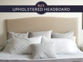 max tons diy upholstered headboard tutorial reveal
