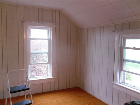 painted wood paneling whitewash wood paneling makeover before and after best