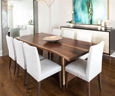 living edge dining table live edge dining room tables toronto