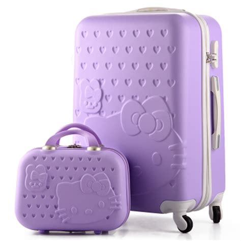 Luggage Bag Covers Hello 20 Inch 20 quot 22 quot 24 quot 26 quot 28 quot inch hello luggage sets abs suitcase and children kt cat