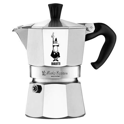 Bialetti Mokapot 1 Cup Italy Kopi Espresso new bialetti moka express espresso maker 2 cup ebay