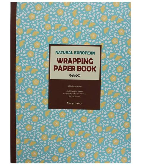 Paper Craft Books Free - tootpado wrapping craft paper book for gift wrapping and
