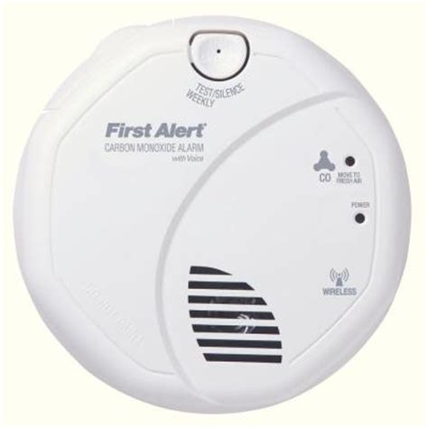 alert wireless interconnect carbon monoxide detector