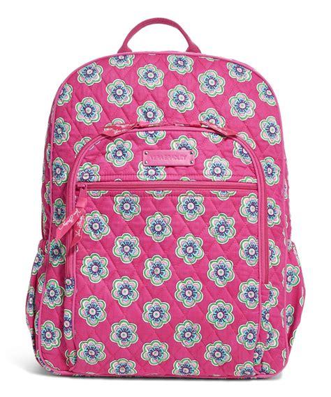 pink pattern vera bradley vera bradley pink swirls flowers cus backpack zulily