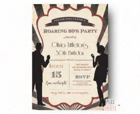 roaring 20 s party invitations