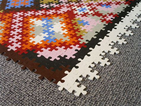 Jigsaw Puzzle Rug by 10 Cool Products Inspired By Puzzles