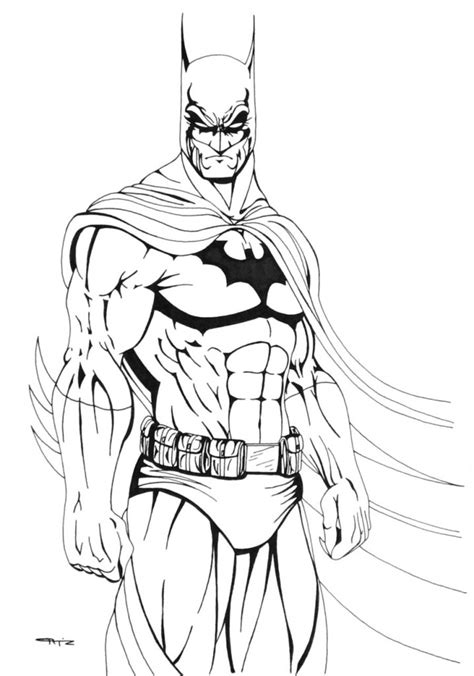 Free Printable Batman Coloring Pages For Kids Coloring Page Batman