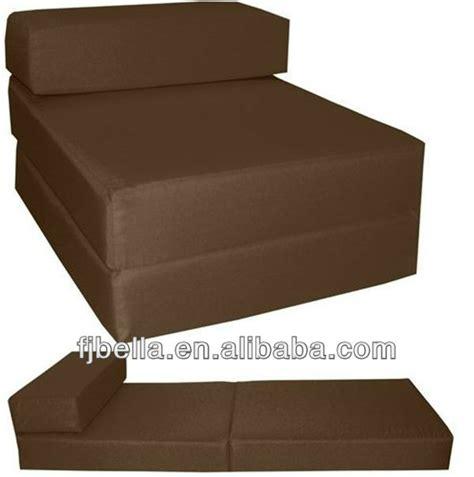 fauteuil lit mousse block foam folding chair bed z guest futon in outdoor blue buy foam folding chair bed chair z
