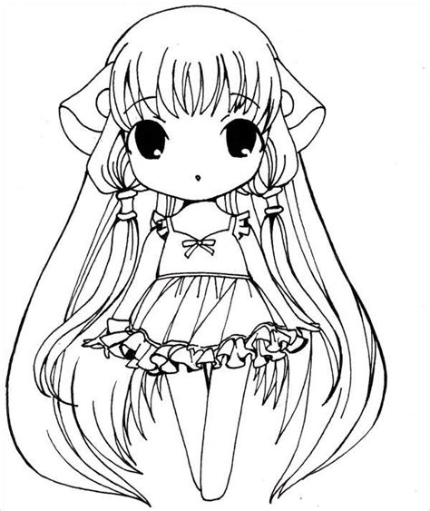 anime girl chibi coloring pages 9 anime girl coloring pages jpg ai illustrator