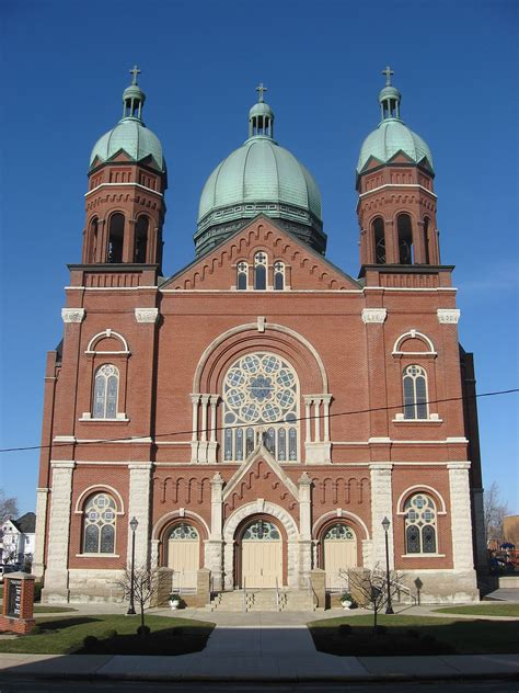Beautiful Churches St Louis Mo #2: 1200px-Immaculate_Conception_Catholic_Church%2C_Celina%2C_front.jpg
