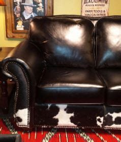 100 cowhide leather sofa silverado 100 top grain leather sofa in bison black and