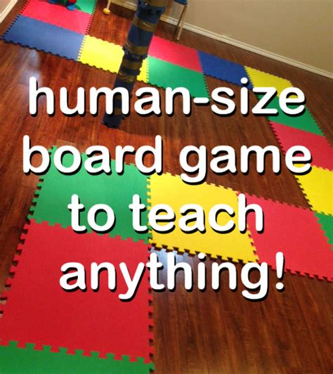 Gamis Big Size getting creative using play mats as a board to