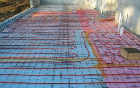 radiant floor heating how does it work
