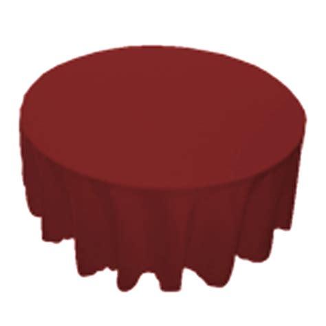 polyester tablecloth burgundy