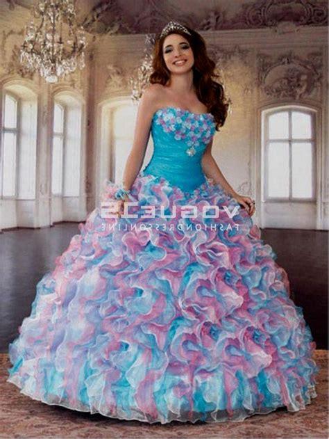 Bjg Blue Dress blue and pink quinceanera dresses naf dresses