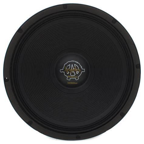 Kaos Bass woofer 18 quot spyder kaos bass 1150 1150 watts rms 4 ohms