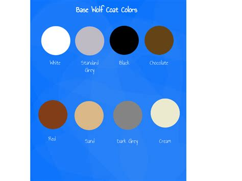 wolf colors wolf coat variety suggestions minecraft java