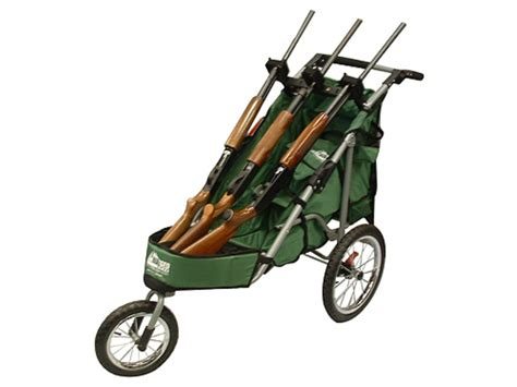 rugged gear cart rugged gear three gun shooting cart swivel front wheel green flat free