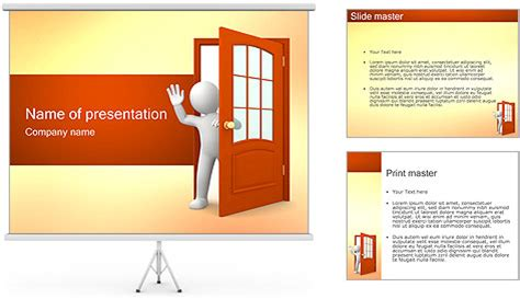 Goodbye Powerpoint Template Backgrounds Id 0000001216 Farewell Presentation Template