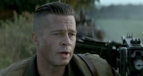 wardaddy hairstyle mens haircuts brad pitt fury haircuts models ideas