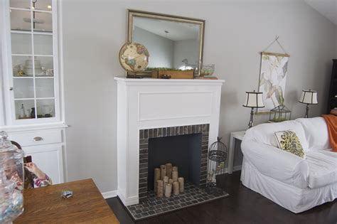 DIY Faux Fireplace Mantel Ideas   FIREPLACE DESIGN IDEAS