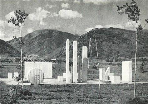 Garden Sculpture Art - earliest land art herbert bayer and fritz benedict s green mound and marble garden 1954 1955