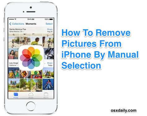 how to erase from iphone how to delete photos directly on iphone
