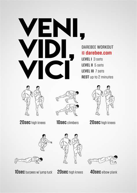 Set Vici veni vidi vici workout