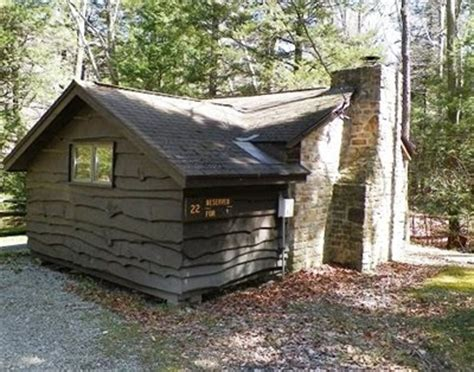 Pennsylvania State Park Cabins by Cabin 22 Kooser State Park Family Cabin District Somerset Pennsylvania Nrhp Historic