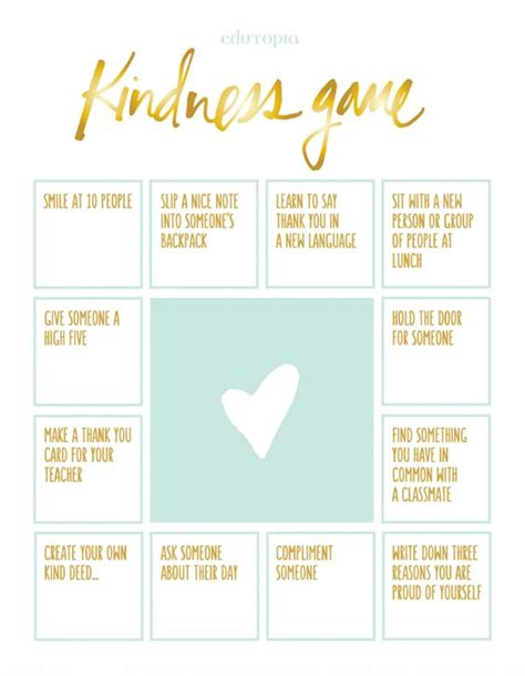 Kindness Worksheets by The World S Catalog Of Ideas