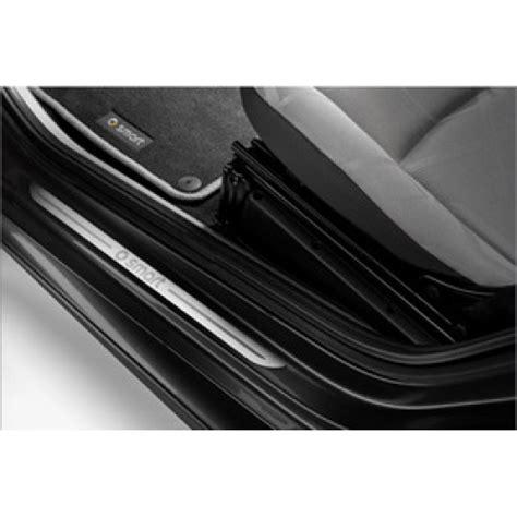 smart car door smart car door sill protectors set of 2 genuine smart