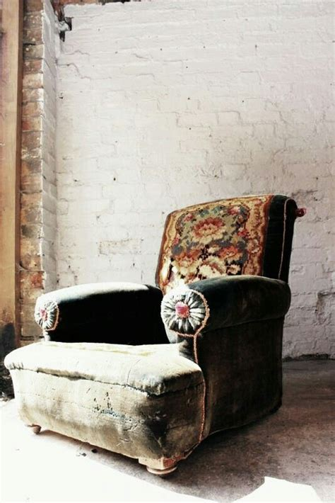vintage interior 5432 you could just sew material to a comfy chair in a