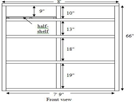 Standard Shelf Height by Bookshelves 30 Inches Height Mapo House And Cafeteria