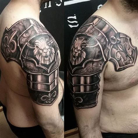 tattoo 3d armor best 25 shoulder armor tattoo ideas on pinterest armor