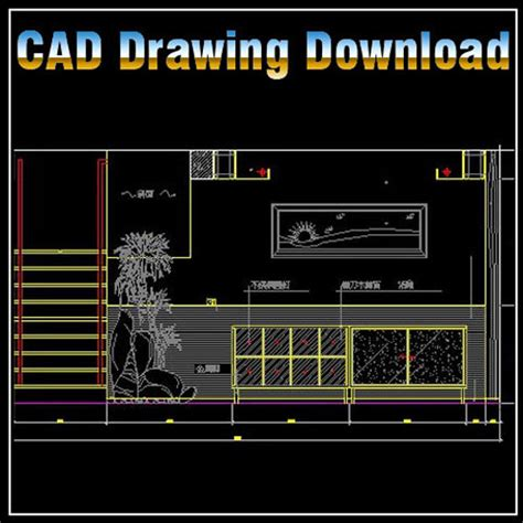 bloc autocad cuisine restaurant design template v 2 cad drawings cad