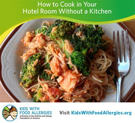 making meals in a hotel room a suprising cooking option