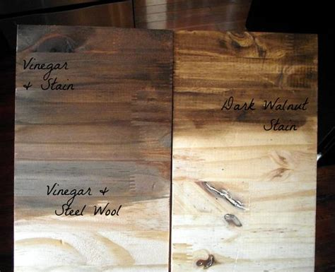 steel wool and vinegar stain walnut stain home pinterest barn wood wood stain and vinegar