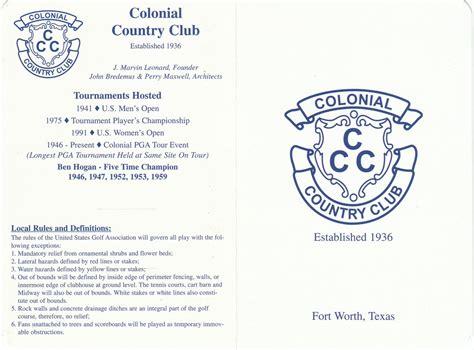 Worth Avenue colonial cc actual scorecard course database