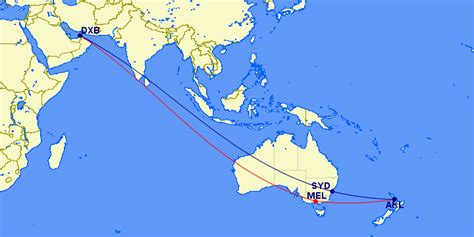 emirates a380 routes what are fifth freedom routes