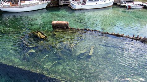Sweepstakes Tobermory Ontario - shipwreck at big tub harbour tobermory ontario canada mapio net