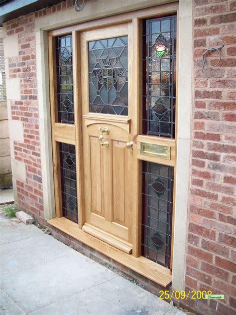 Oak Door Frames Exterior Bespoke Doors Derwentside Shopping Mill