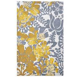 Grey And Yellow Area Rug Nila Area Rug In Grey Yellow Bed Bath Beyond
