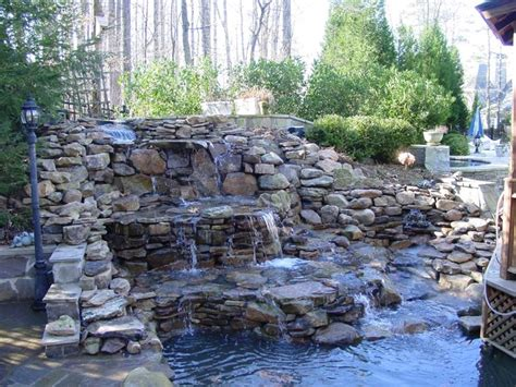 waterfalls for backyards 20 backyards with stunning waterfalls