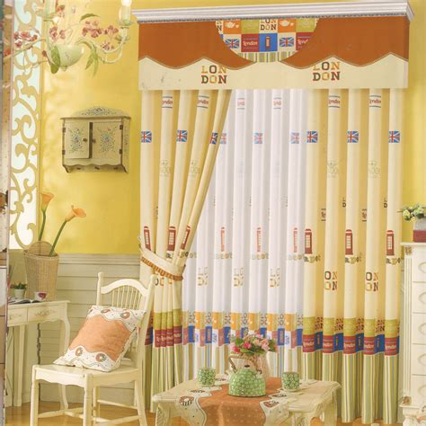baby yellow curtains baby girl curtains light yellow cotton fabric no valance