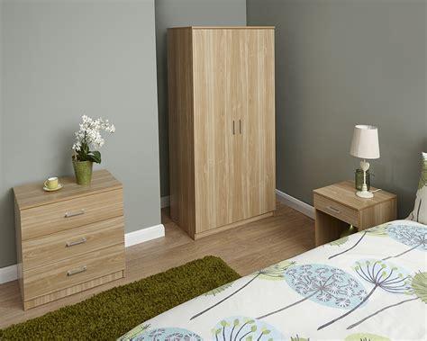 cheap 3 piece bedroom set cheap new luna 3 piece trio bedroom set wardrobe chest
