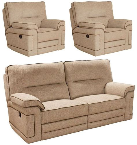 Buy Buoyant Plaza 3 1 1 Seater Fabric Recliner Sofa Suite Recliner Fabric Sofa Uk